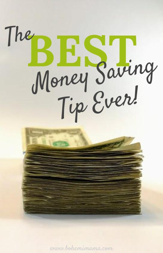 The Best Money Saving Tip Ever | If you've ever felt like you can't get ahead, no matter what you do, you might just be failing at this one simple thing. Do you have what it takes to gain control again?