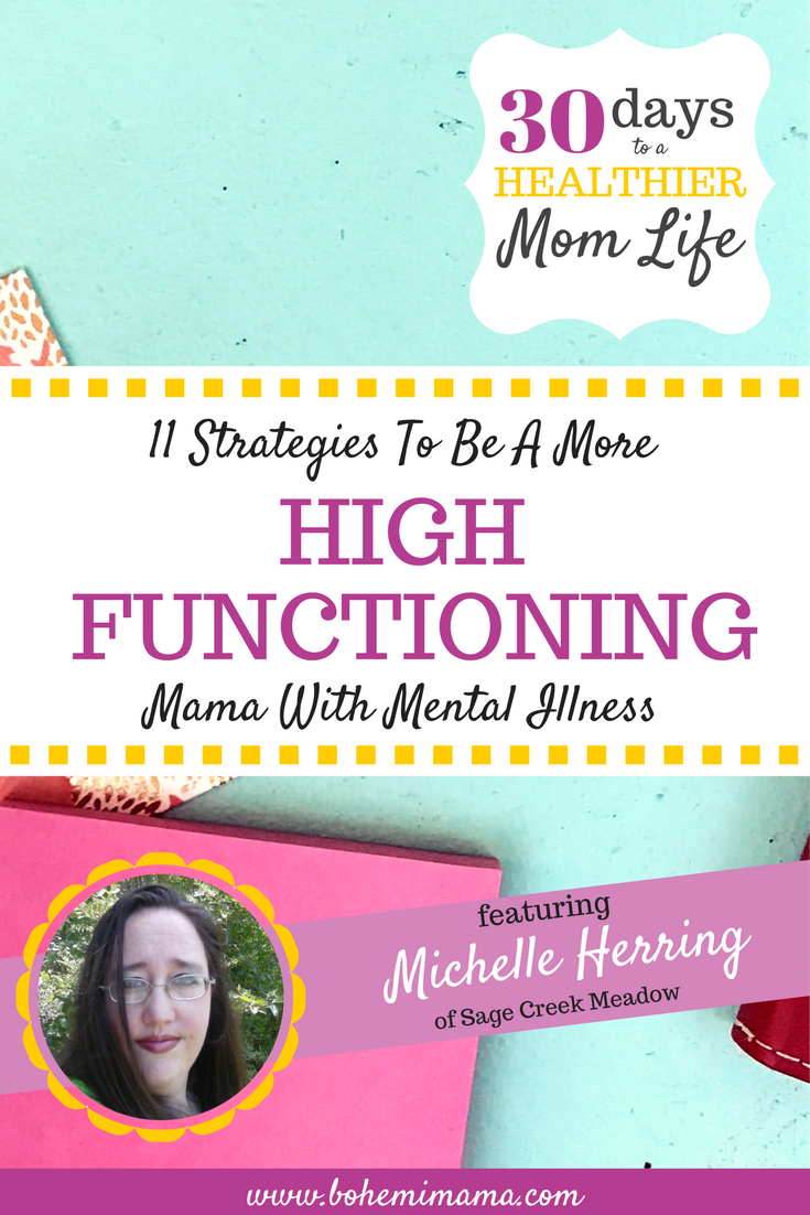Mental Illness doesn't have to disable you from enjoying every moment of your mom life. Learn how to gain control over your mental health and be the best mom you can be.