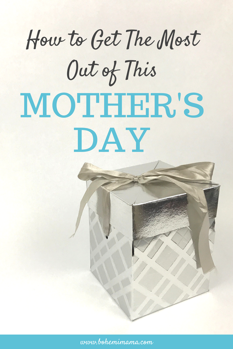 If Mother's Day has ever left you feeling disappointed, stressed out, or guilty, than this is for you! Mother's Day can be relaxing and filled with happy feelings. Learn more by clicking the photo.