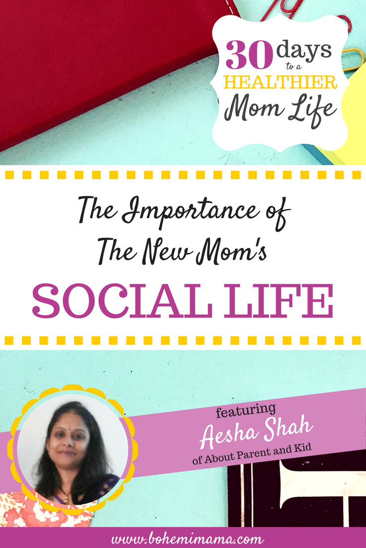 The Importance of The New Mom's Social Life | It's so easy to feel like you're all alone when the baby won't stop crying, the dishes and laundry are piled high, and you're friends are too nice (or too scared) to drop in on you. You are not alone! And you need to get back out there and make time for your friends again. Find out how by clicking this link.